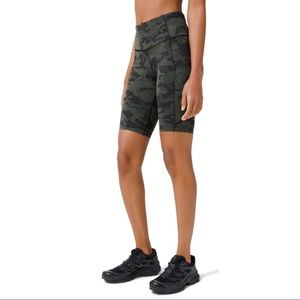 """Lululemon Fast And Free High Rise Camo Short 10"""""""